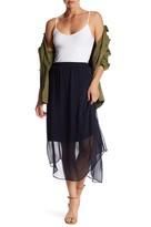 Joe Fresh Semi Sheer Midi Skirt