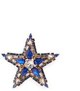 Erickson Beamon 'American Graffiti' Swarovski crystal star brooch