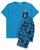 George Sesame Street Cookie Monster Pyjamas Gift Set