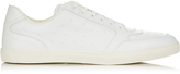 Moncler Joseph low-top star-embossed leather trainers