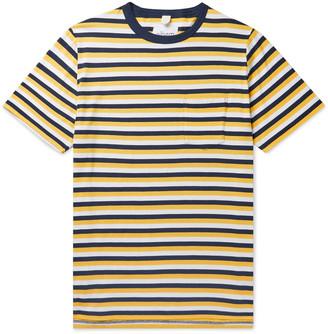 Albam Striped Cotton-Jersey T-Shirt