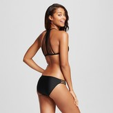 Xhilaration Women's Strappy Back Triangle Bikini Top