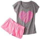 Xhilaration Junior's Knit Tee and Short Sleep Sets - Assorted Prints