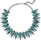 Kendra Scott Gwendolyn Statement Necklace in Variegated Teal Magnesite