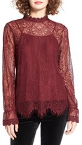 WAYF Women's Swing Street Lace Blouse