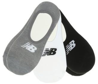 New Balance Super Men's No Show Socks - 6 Pack
