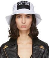 Versace White Logo Bucket Hat