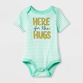 "Cat & Jack Baby Short Sleeve ""Here for the Hugs"" Bodysuit - Cat & JackTM"