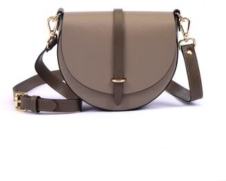 Hiva Atelier Mini Arcus Leather Bag Sand & Mink