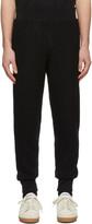 Ami Alexandre Mattiussi Black Boiled Wool Lounge Pants