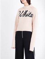 Off-White Printed cotton-jersey sweatshirt