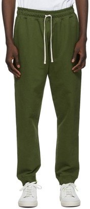 Bather Khaki Cotton Sweatpants