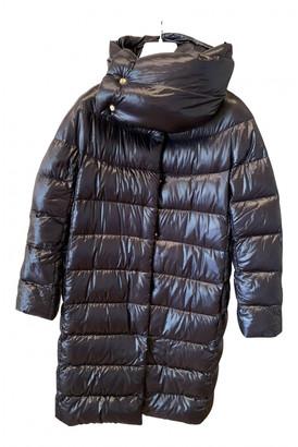 Herno Black Synthetic Coats