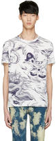 Gucci White Sea Storm T-Shirt