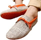 Mljsh Generic Men's Casual Breathable Weave Slip On Loafers Driving Moccasins Boat Shoes Sz 9 Men US