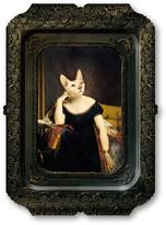 Ibride Galerie De Portraits - Rectangular Tray - Victoire