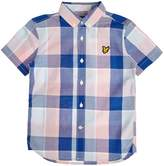 Lyle & Scott Boys Big Scale Check Shirt