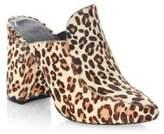 Joie Landri Leopard-Print Fur Mules