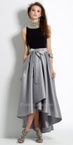Camille La Vie Satin High Low Homecoming Dress