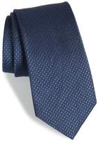 The Tie Bar Dotten Dot Silk & Cotton Tie