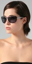 Stella McCartney Sunglasses Clear Detail Sunglasses