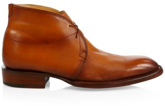 Lucchese Evan Leather Chukka Boots