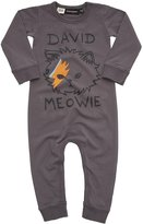Rock Your Baby Infant David Meowie Playsuit