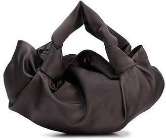 The Row ascot mini bag ash grey