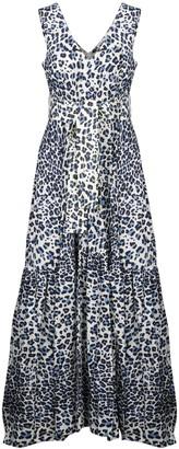 P.A.R.O.S.H. Ceopard Long Dress