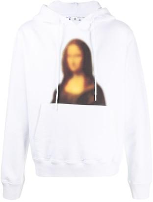 Off-White Monnalisa print hoodie
