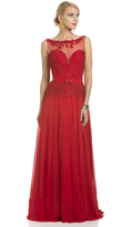 Lara Dresses - 32307 in Red