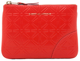 Comme des Garcons Star Embossed Small Pouch