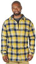 Stanley Men's Plaid Fleece-Lined Flannel Shirt Jacket