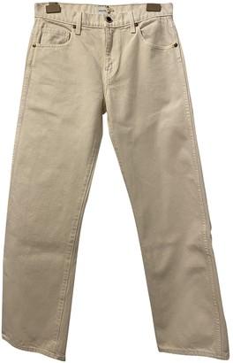 KHAITE Beige Denim - Jeans Jeans
