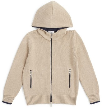 BRUNELLO CUCINELLI KIDS Knitted Hoodie (4-7 Years)