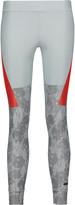 adidas by Stella McCartney Printed stretch-jersey leggings