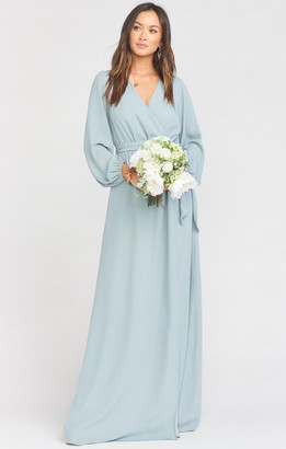 Show Me Your Mumu Lady Long Sleeve Wrap Dress