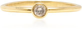 Octavia Elizabeth 18K Yellow Gold & Diamond Stack Ring