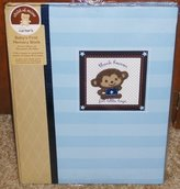 """Carter's Child of Mine Baby's First Memory Book \""""thank heaven for little boys\"""""""