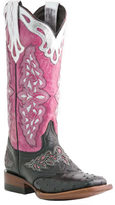 Lucchese Women's Since 1883 M5800. TWF Square Toe Fowler Heel Boot