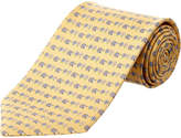 Salvatore Ferragamo Gold Silk Tie