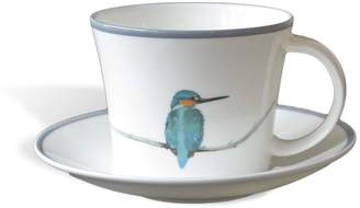 Emily Smith Kingfisher Cup and Saucer