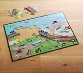 Pottery Barn Kids Transportation Floor Puzzle