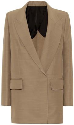 Ami Buttonless oversized blazer