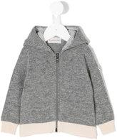 Moncler classic zipped hooded sweatshirt - kids - Cotton/Virgin Wool - 9-12 mth
