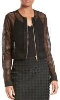 Diane von Furstenberg Women's Chain Lace Jacket