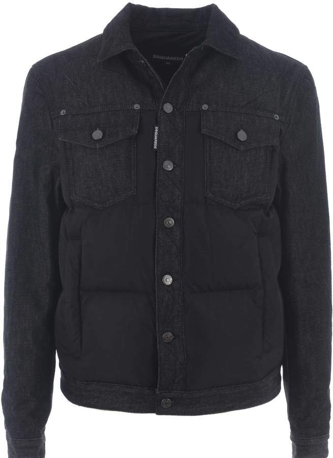 DSQUARED2 Dual Denim Shell Down Jacket