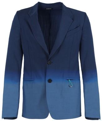 Givenchy Gradient Blue Jacquard Blazer