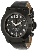 Glam Rock Women's GR32176-DEBZ Sobe-Mood Chronograph Black Dial Black Patent Leather Watch