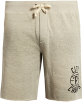 Polo Ralph Lauren Raw-edged cotton-blend jersey shorts